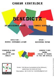 Flyer BENEDICTA 2016